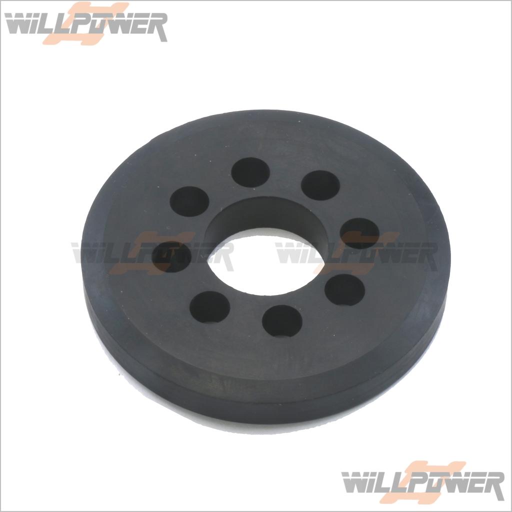 Q-World RC-WillPower Starter Rubber Wheel For 10243,10245,10246 #QW-92705