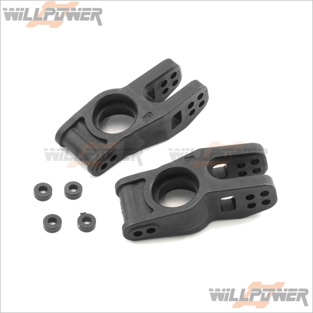 RC-WillPower HOBAO Hyper 9//Hyper SS Rear Wheel Hub #89027
