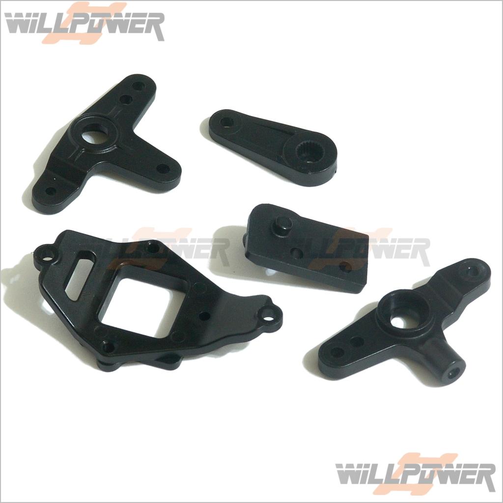 For 25 Slanted Nitro Gas Engine RC-WillPower Hyper 9 Coordinator Mount #89051