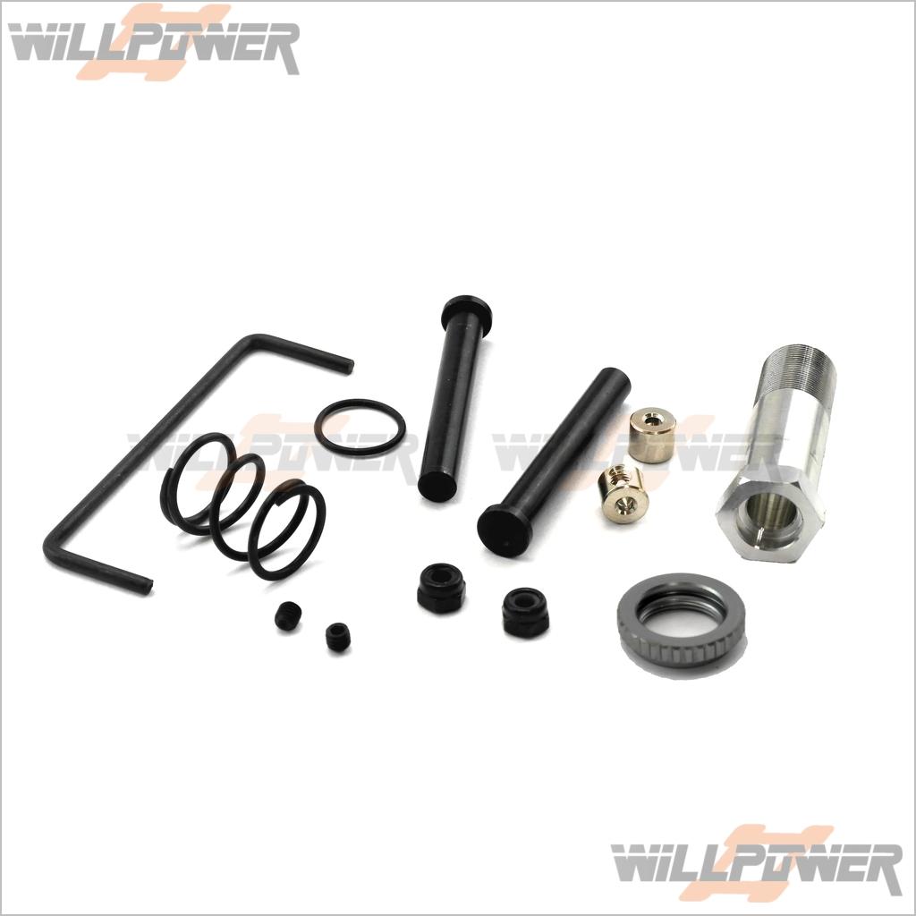 HOBAO Hyper 10SC//Hyper MINI ST Servo Saver #11233 RC-WillPower