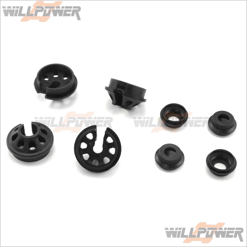 RC-WillPower Plastic Shock Spring Holder #387G HongNor