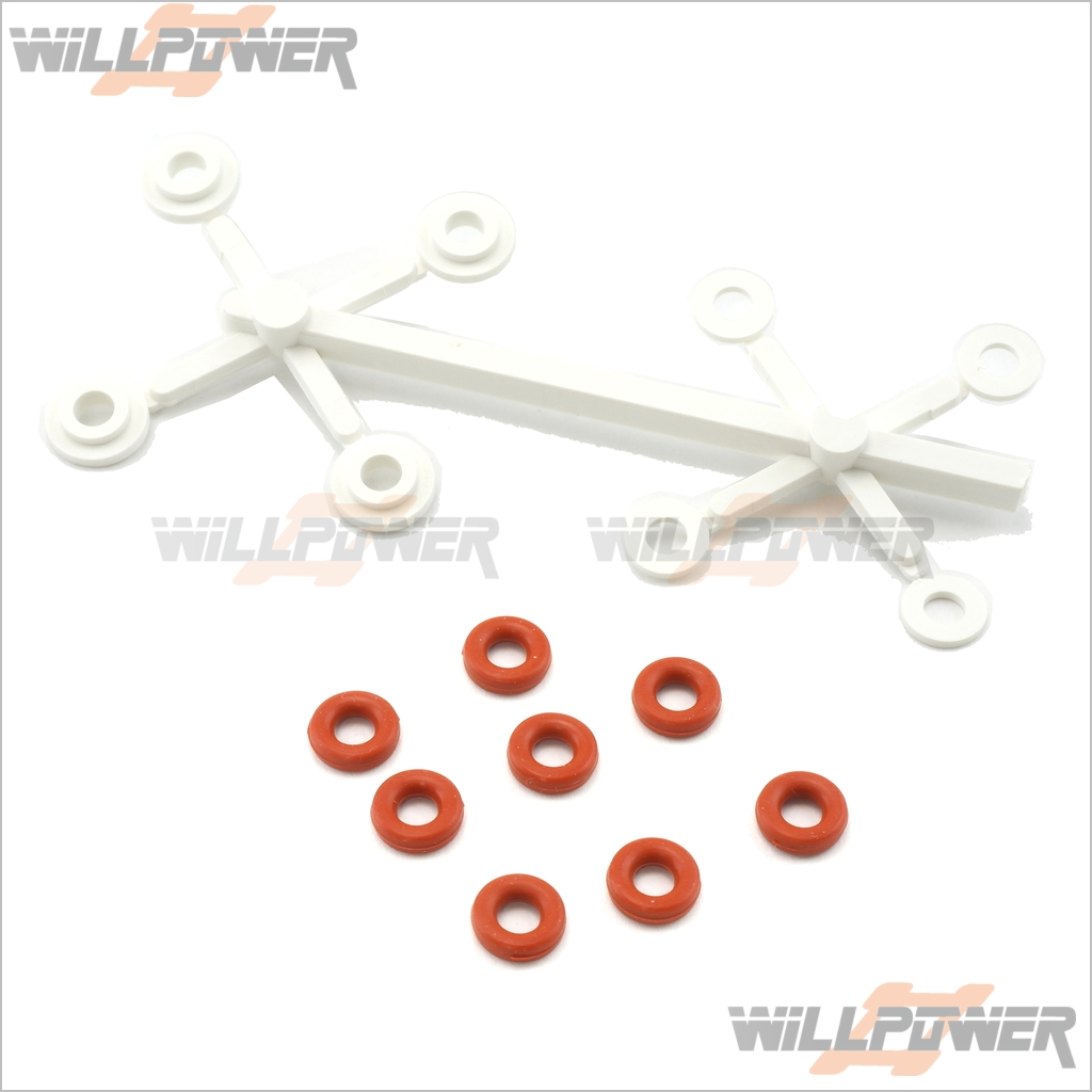 16mm Shock Absorber Repair Kit #387S RC-WillPower HongNor