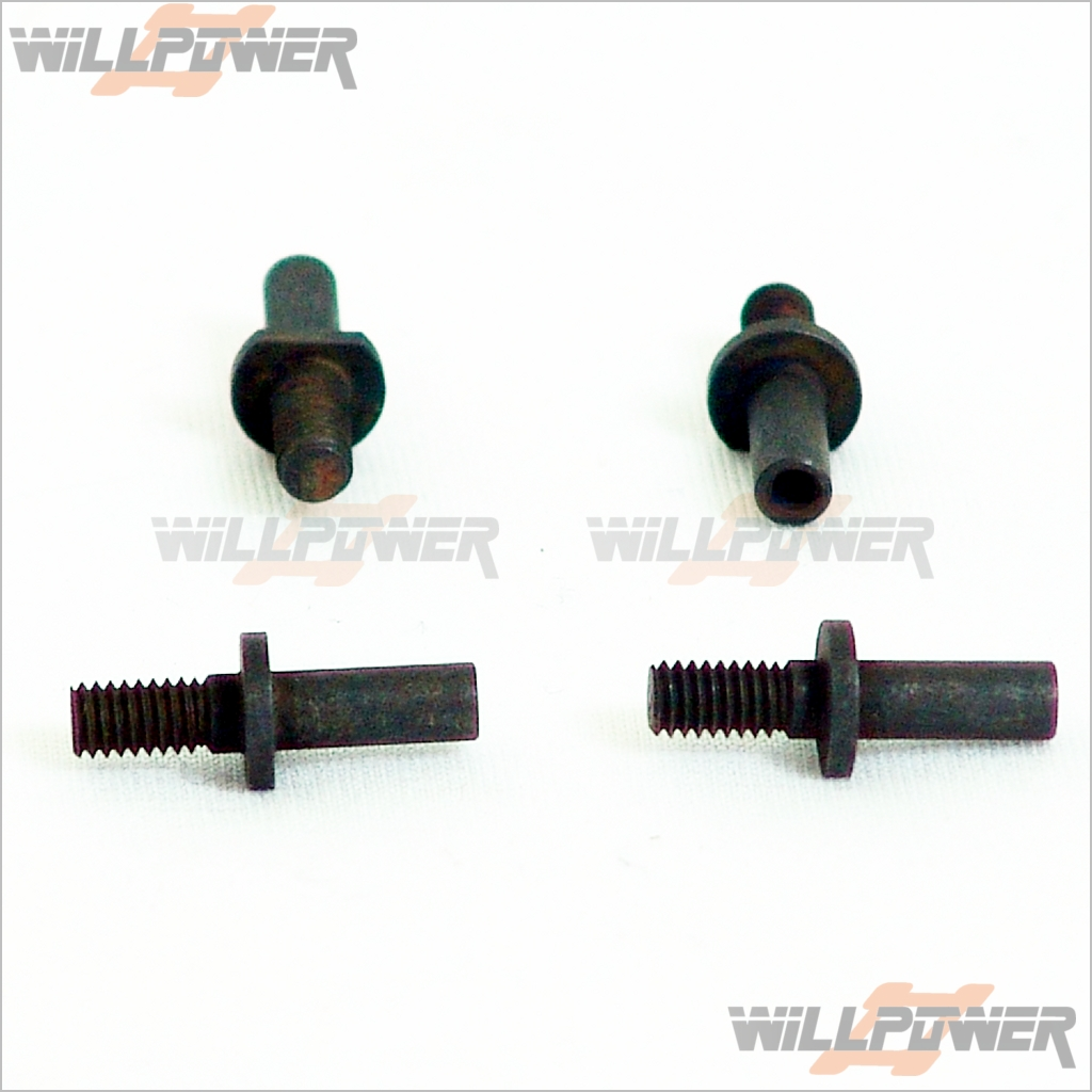Arm Pin #10905-1 SH Z-Car Z10-Parts Rear Lower Susp RC-WillPower