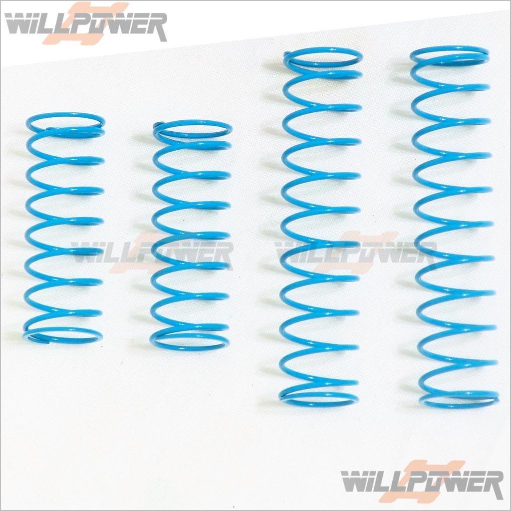 Blue//Middle #TMS-16 HongNor SCRT-10 Parts Shock Spring