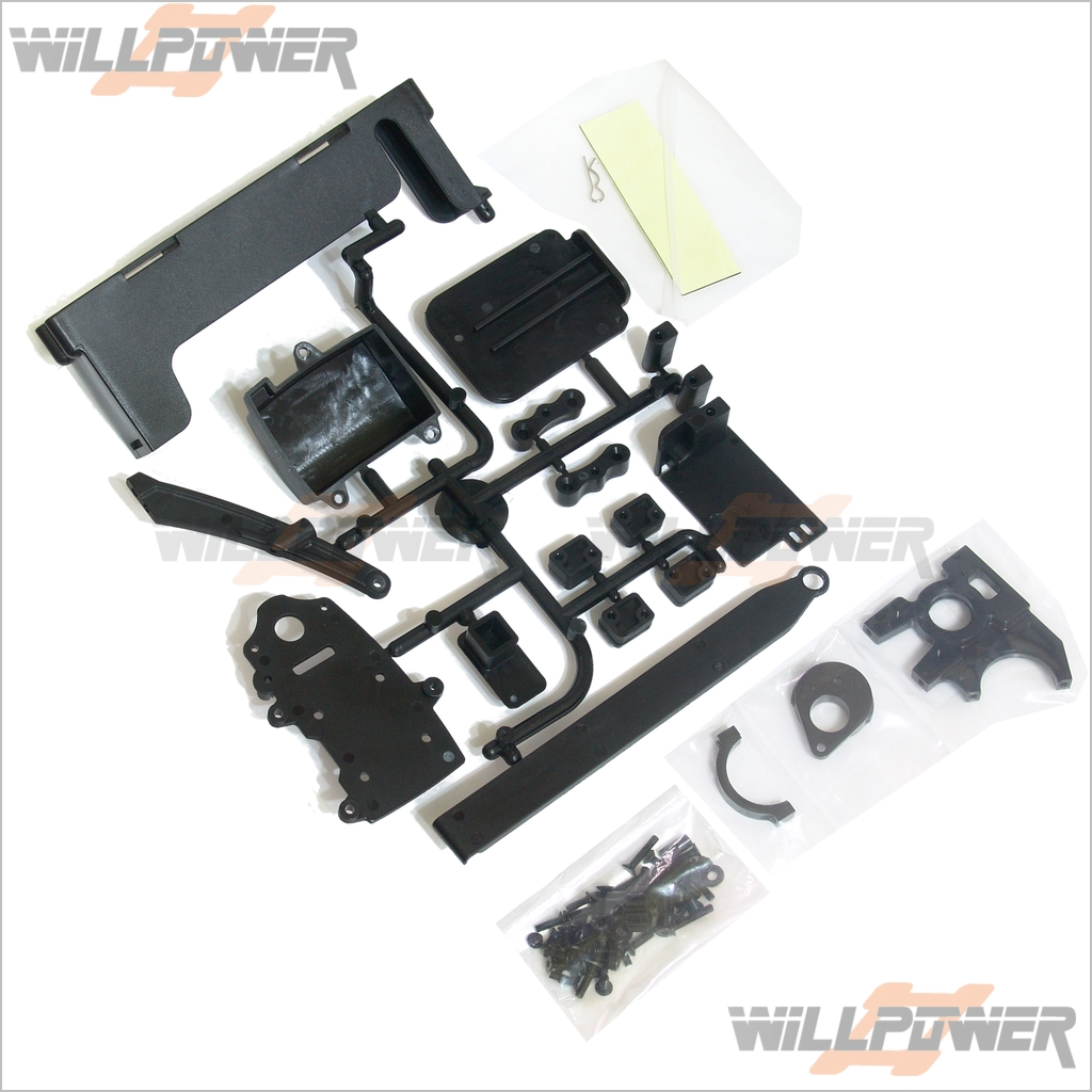 Electric Conversion Kit for CRT.5 #TMS-34 HongNor RC-WillPower