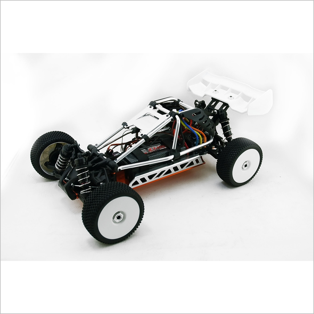 hyper ep cage buggy kit black rc willpower hobao 1 8 1 8. Black Bedroom Furniture Sets. Home Design Ideas