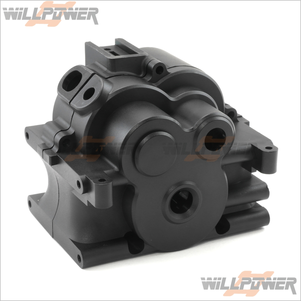 Transmission Box #94038 Centre Case RC-WillPower HOBAO Hyper MT