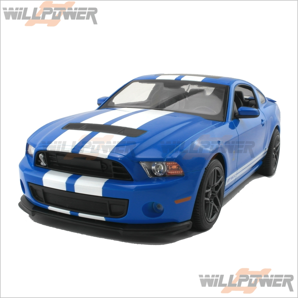 ford mustang shelby gt500 car rtr rc willpower rastar ebay. Black Bedroom Furniture Sets. Home Design Ideas