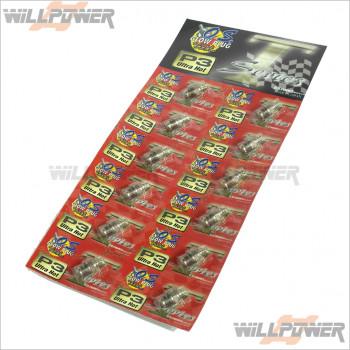 O.S. P3 Turbo Glow Plug 12 pieces