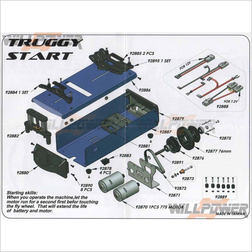 rc starter box wiring diagram wiring schematic diagram