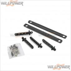 G.V Front CVD Drive Shaft Universal Joints #MV3572 Model Mammoth RC-WillPower