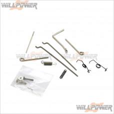 Front Lower Arm suspension #MV347F3 G.V Radio Control-WillPower modèle XT2//REX II
