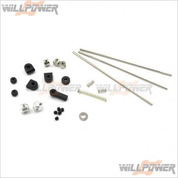 Hobao OFNA Hyper parts Front Rear Body Post 88024