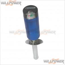 Alum. Glow Starter SC Size w/ Meter (Blue) [RC Accessory]