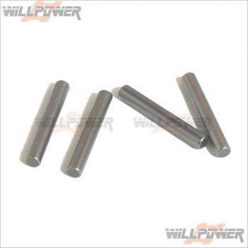 HongNor 2.5x16.8mm Pins * 4 #267E [DM-ONE/DM-ONE (1/8)/GTP2/LX-1 EP/LX-1/LX-2 EP/LX-2/NEXX8/NEXX8T/X1CR/X1CRT/X2CR/X2CRT/X3 SABRE/X3-GT/X3-GTe/X3e SABRE]