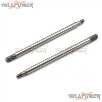HongNor Rear Shock Damper Shafts #316A [LX-1 EP/LX-1/LX-2 EP/LX-2/NEXX8/NEXX8T/X1CR/X1CRT/X2CR/X2CRT/X3 SABRE/X3e SABRE]