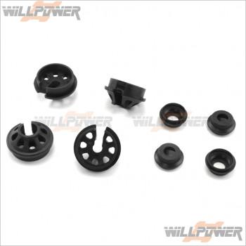 HongNor Plastic Shock Spring Holder #387G [LX-2 EP/LX-2/NEXX8/NEXX8T/X1CR/X1CRT/X2CR/X2CRT/X3 SABRE/X3-GT/X3-GTe/X3e SABRE]