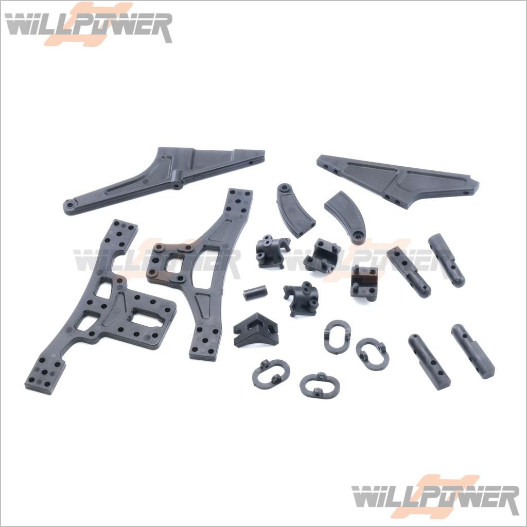 HongNor CRT.5//NEXX10//SCRT-10 Drive Cap Joint for Diff RC-WillPower #TM-08
