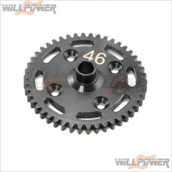 HongNor Lightweight Spur Gear 46T #X2S-17 [NEXX8] [X2CR]