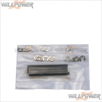 HongNor Rear Arm Shaft 3mm #D-17 [LX-1 EP/LX-1/LX-2 EP/LX-2]