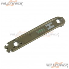 H.A.R.D Hard Coated Wheel Nut / Flywheel Wrench #H1039