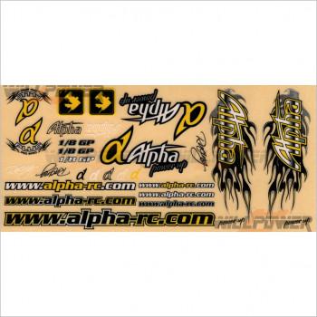 Alpha Decal Sticker