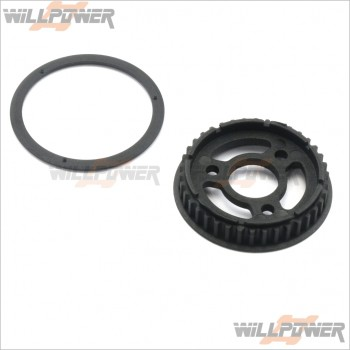 ARC Front Spool Pulley Set 38T #R10102A