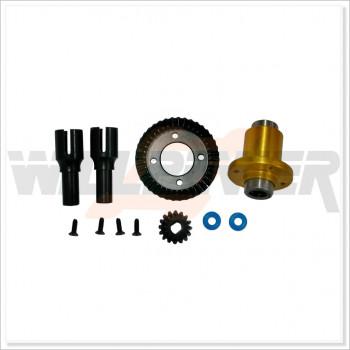 HongNor Front One-Way Set (Incl:LS-01B & LS-02A) * 1 set #LCS-01 [CD3]