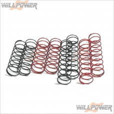 Sworkz Shock Spring Set -8pcs #SW-210016 [BK1 Parts]