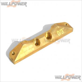 RDRP DEX210 Brass RF Suspension Mount 0/3 #RDRP0046
