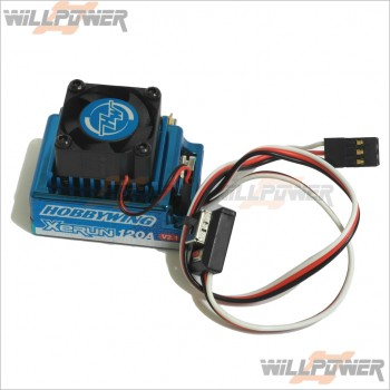 HobbyWing Sensored Brushless V2.1 120A ESC #HY-120A