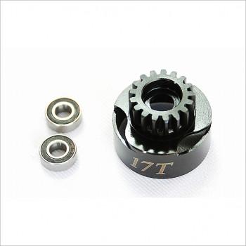 Alpha 17T Clutch Bell w/ Bearing #E63-BU02117 [Engine Parts]