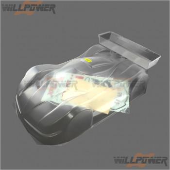 HongNor X3 GT Body, clear #420 [X3-GT Parts] [X3-GTe Parts]