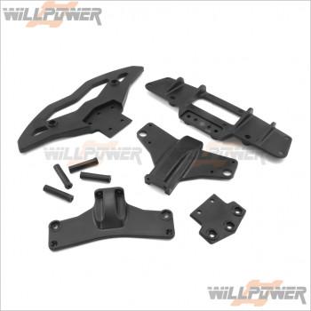 HongNor Front Rear Bumper #X3-82 [X3-GT] [X3-GTe]
