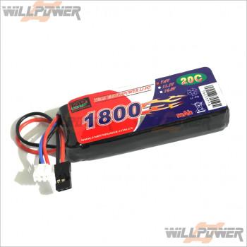 EP 7.4V/1800mAh Li-PO Flat Pack Rechargeable Battery [RC Battery]