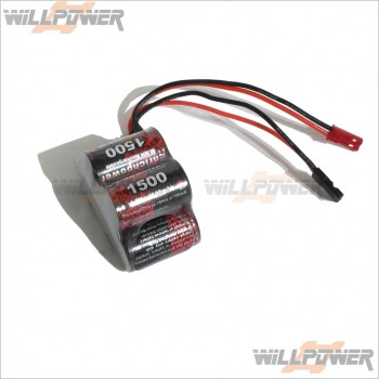 EP 6V/1500MAH Ni-MH Hump Pack Rechargeable Battery