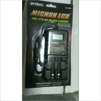 Prolux USB 1A Ni-MH AA/AAA Charger [RC Accessory]
