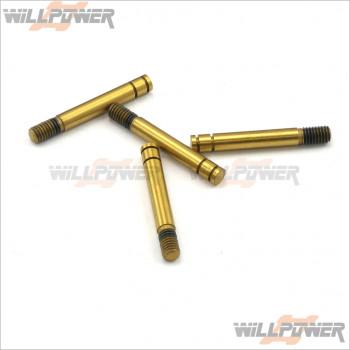 Short Type Shock Damper Shaft #R109039 [R10] [R10 Opt] [R11 Opt]