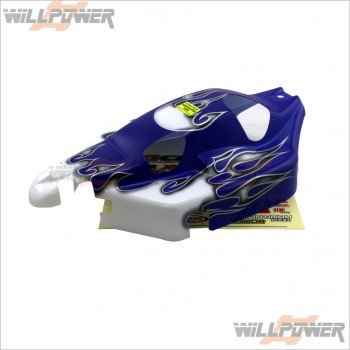 HongNor Printed Body Shell Cover #X1-44B-Blue [X1CR] [X2CR]