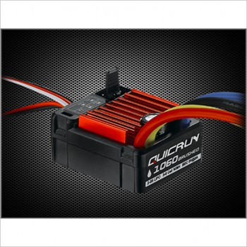 HobbyWing QUICRUN Water Proof 1060 Brushed ESC 60A #30120200