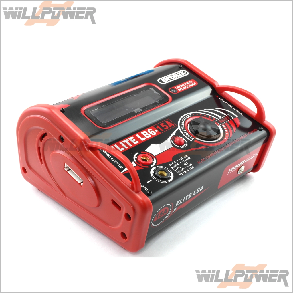 RC-WillPower Prolux AC//DC 5A Portable 5-IN-1 Balance Charger w// LCD #3868A
