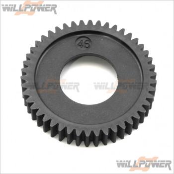 HongNor 46T 2nd Spur Gear #294D [GTP2] [DM-ONE] [DM-ONE (1/8)] [X3-GT] [X3-GTe] [X3-GT]