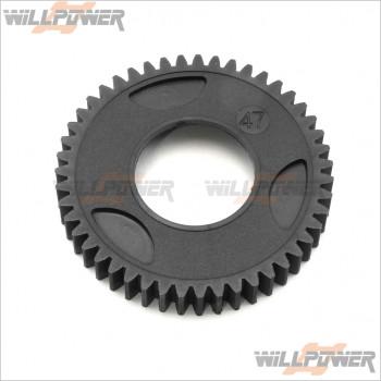 HongNor Spur Gear 47T-1st #294C [DM-ONE] [DM-ONE (1/8)] [X3-GT] [GTP2] [X3-GTe] [X3-GT]