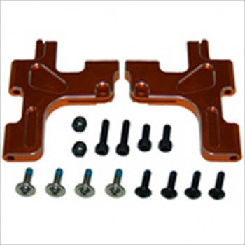 G.V. Model Front suspension arm down (2pcs / gold colour). Can be used by BV (210mm) Touring car #SEVX347F1GO
