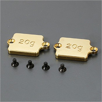 ARC Chassis Weight-Brass 20g (2) #R803030