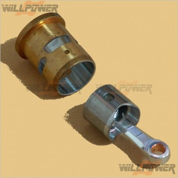 GO Piston Cylinder Con Rod for 18 Side Exhaust Engine #18-2202 [Engine Parts]