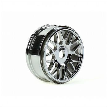 HongNor Mesh Wheel, Chrome #332C
