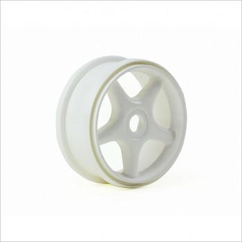 HongNor 5-Spoky Buggy Wheel, White #185W
