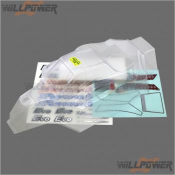 HongNor Clear Body Shell Cover #X3.6-11 [X3S 3.0 EVO]