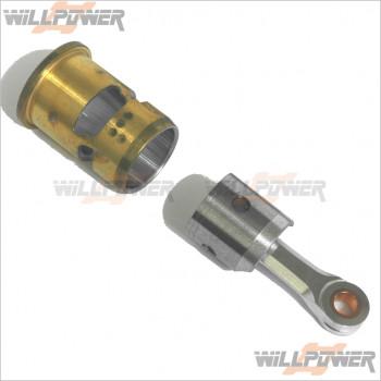 GO 3P Piston Cylinder Con Rod #21-2203